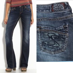 Silver Jeans •  Aiko Bootcut Jeans • Size 28
